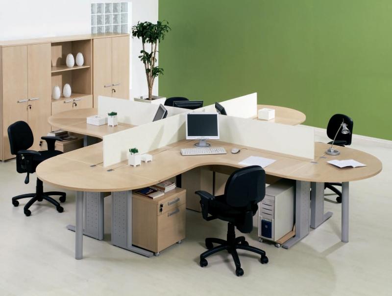 Foto esta o de trabalho madeira loja de m veis para for Escritorio ergonomico