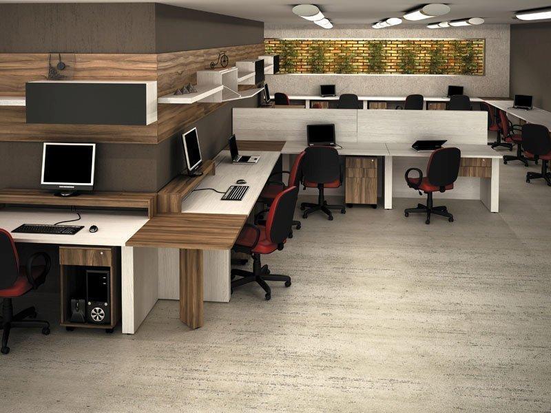 Foto mesa escritorio ergonomico loja de mveis para for Escritorio ergonomico