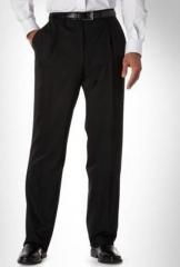 Calça modelo social masculina em microfibra ou gabardine