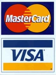 Aceitamos cartões visa e master