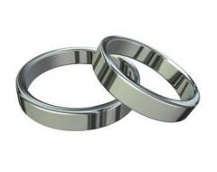 Alian�a compromisso prata 990 5mm