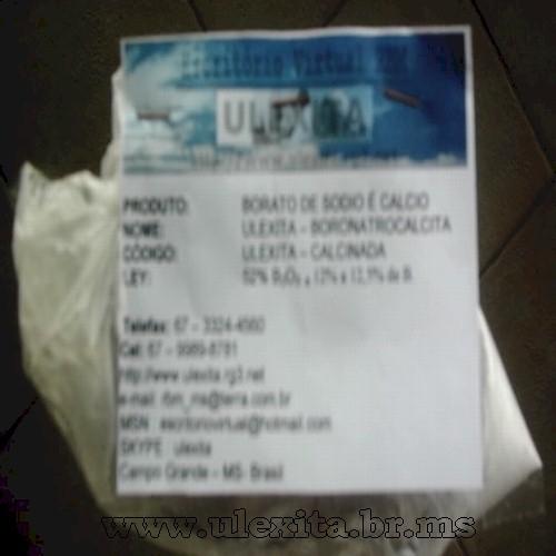 Ulexita Frita de 50% a 52% de B203 - www.geocities.ws/ulexita