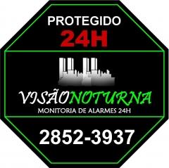 Placa de protegido visao noturna