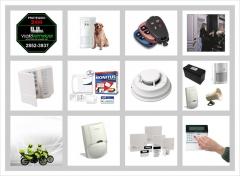 Visão noturna alarmes e monitoramento