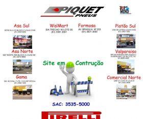Revenda Oficial Pirelli - Piquet Pneus