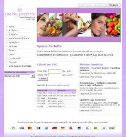 Clínica Spazio Perfetto - Medicina Estética e Nutrição