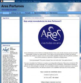 Distribuidor - Ares Perfumes