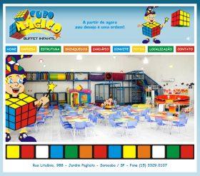 Cubo M�gico Buffet Infantil