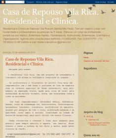 Clínica Casa de Repouso Vila Rica