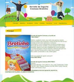 Distribuidora de Sorvetes de Iogurte Cremo Brotinho