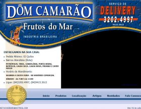 Dom Camarão: Frutos do Mar