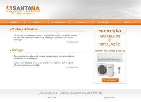 A Santana Ar Condicionado Refrigeracao e Lavadoras